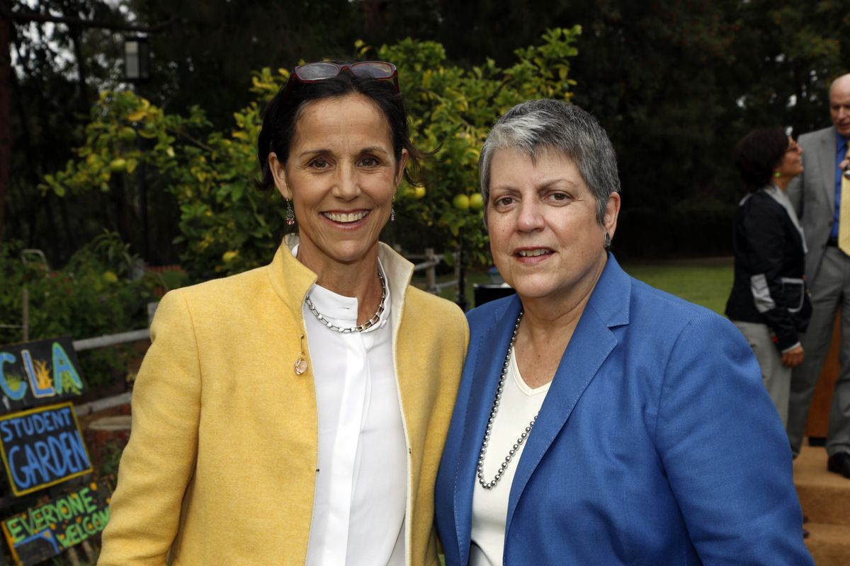 Dr. Wendy Slusser and Janet Napolitano