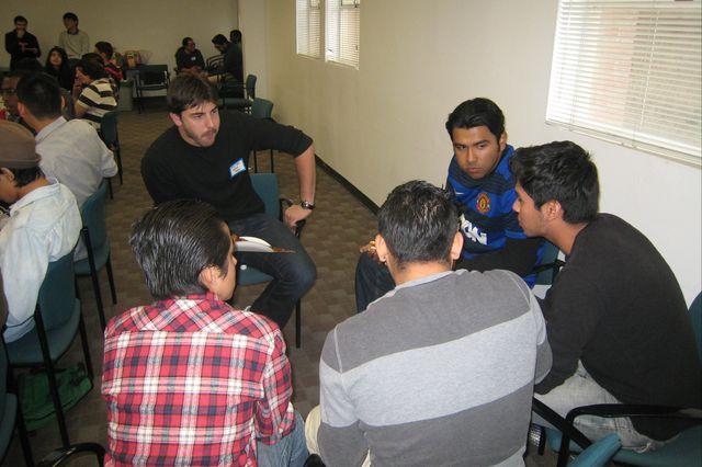 Ph.D. student Steven Lopez