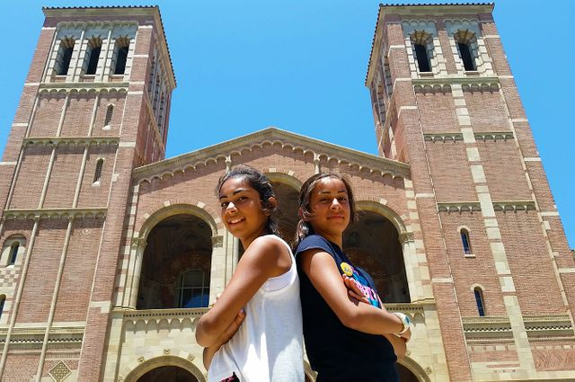 #UCLASummer outside Royce Hall