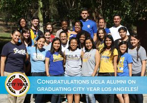 City Year L.A.'s UCLA members