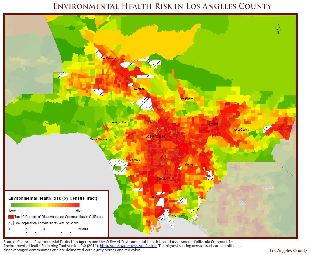 UCLA EDF Identify Opportunities To Curb Climate Pollution Spur - Los angeles pollution map
