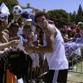 Real Madrid star Pepe signs autographs at UCLA