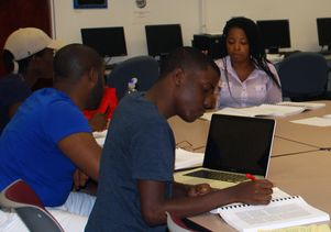 Summer Humanities Institute students
