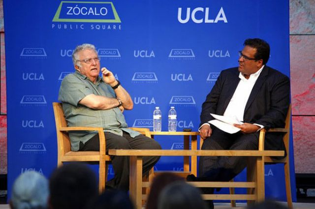 Randy Newman and Gregory Rodriguez