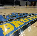 Water damage to Pauley Pavilion floor