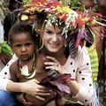 Snejana Daily in Papua New Guinea