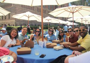 UCLA All-Staff Picnic group