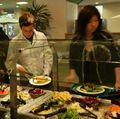 Salad bar at a UCLA dining hall