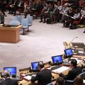 A meeting of the United Nations Security Council