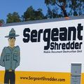 Sergeant Shredder truck