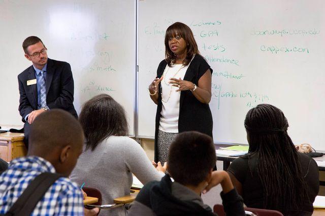 Youlonda Copeland-Morgan at Washington Preparatory High School