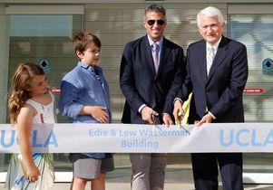 Edie & Lew Wasserman Building opening