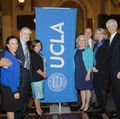Honorees and UCLA officials at UCLA in Downtown L.A. day
