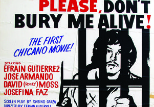 "Movie poster of ""Please, Don't Bury Me Alive!"""
