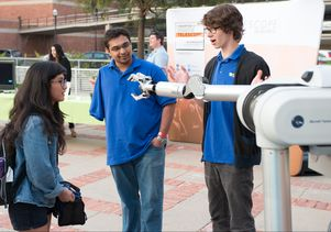 UCLA students with the UCLA Biomechatronics Lab