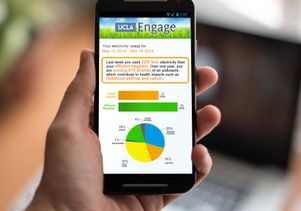 Engage website on smartphone