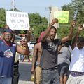 Protest of fatal police shootings