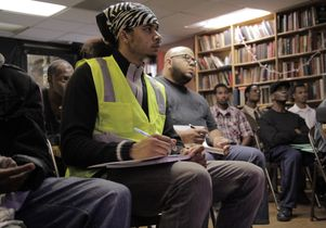 Participants in the Ready to Work program, run by the Los Angeles Black Worker Center, a project of the UCLA Labor Center