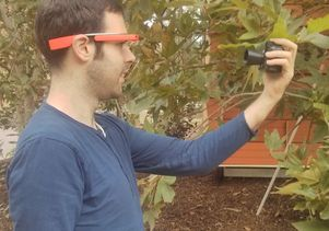Google Glass plant health