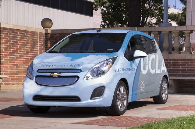 UCLA Commute car