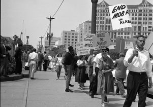 Congress of Racial Equality members in Los Angeles