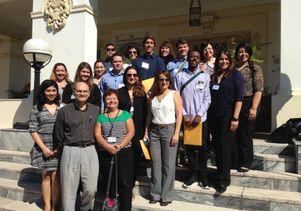 UCLA visitors with Dr. Jose Luis Di Fabio, Pan-American Health Organization/World Health Organization representative, Cuba