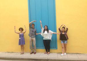 Nursing students in Cuba