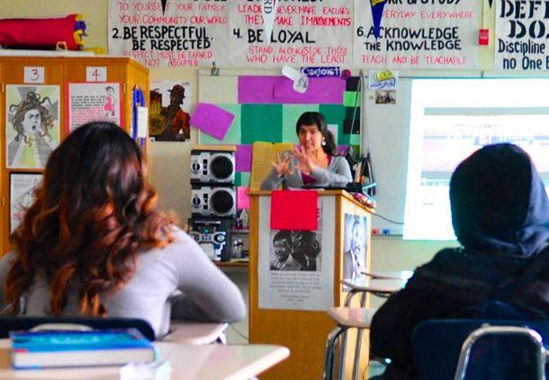 Cynthia Carvajal leads DACA eligibility workshop
