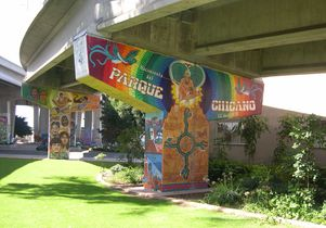 Mural in Chicano Park, San Diego