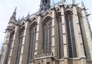 Exterior of the Sainte-Chapelle
