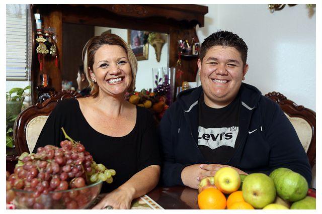 Veronica Romero has struggled to let go of the feeling that she was somehow responsible for her son Anthony's weight problems.