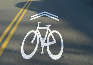 Bicycle Sharrows
