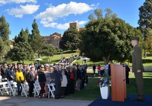 2015 Veterans Day ceremony at UCLA