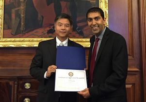 Neil Garg and Ted Lieu