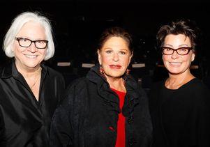 Dean Teri Schwartz, Lainie Kazan and Tina Sinatra