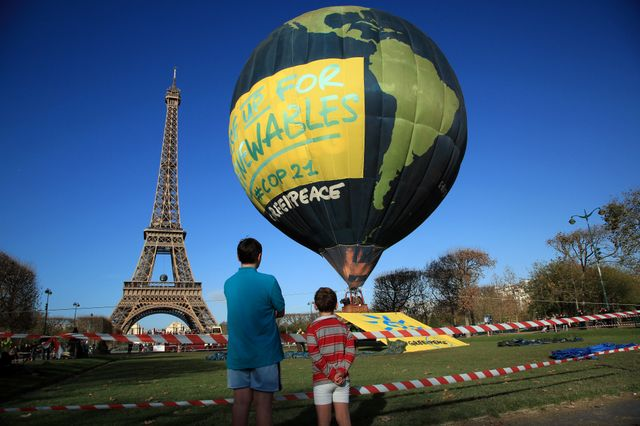 Start of UN climate talks in Paris