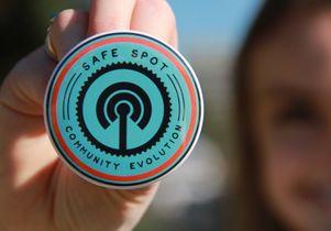 Safe Spot pin