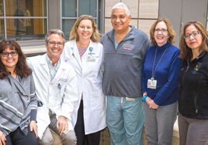 Staff of UCLA's heart-lung transplant programs