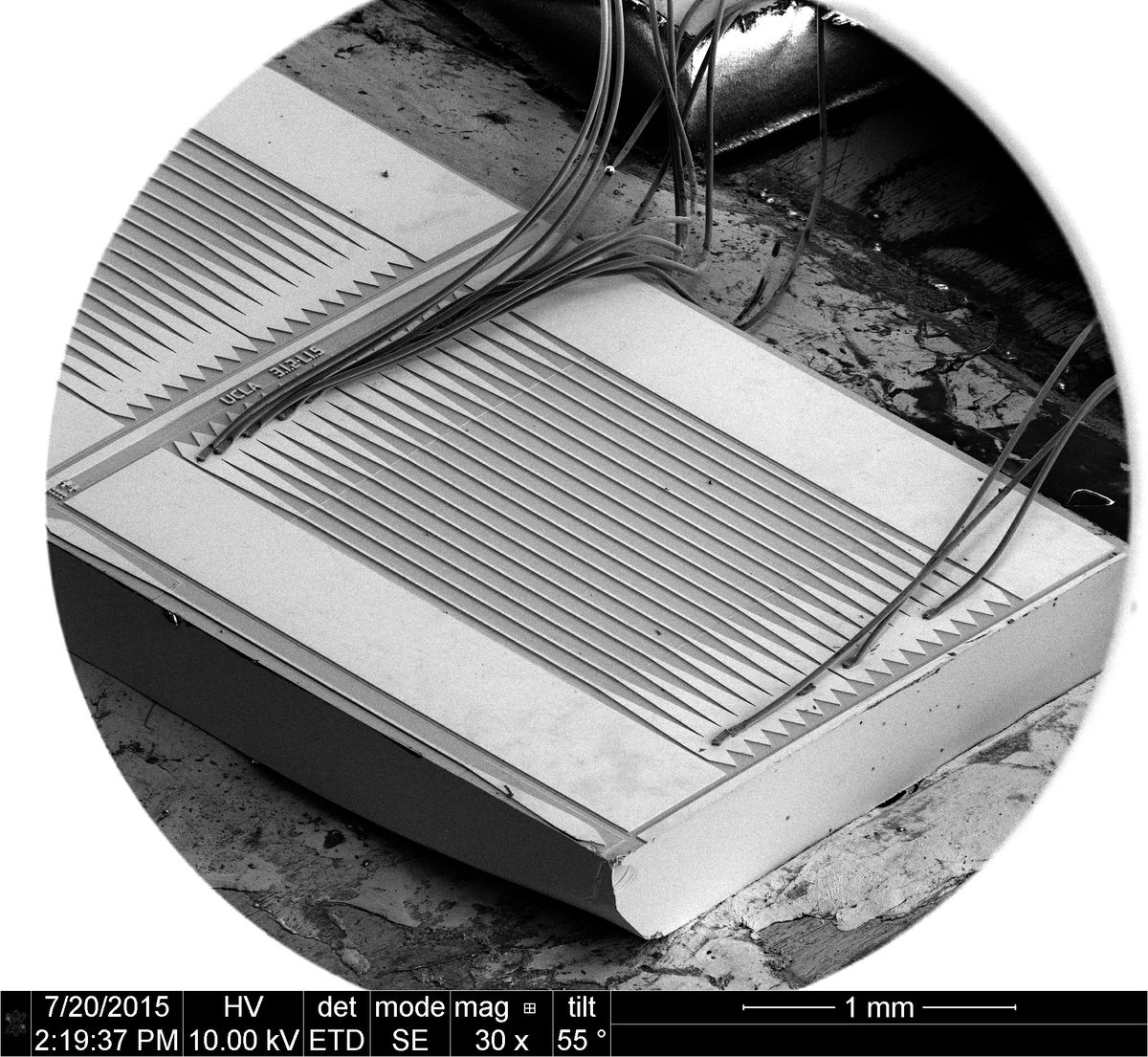 Williams Laser metasurface