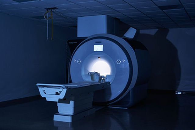 MRI scanner at the Ahmanson-Lovelace Brain Mapping Center at UCLA