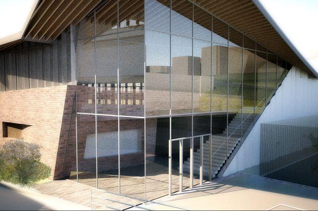 Proposed Mo Ostin Basketball Center