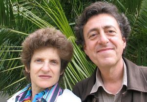 Sarah Morris and John Papadopoulos