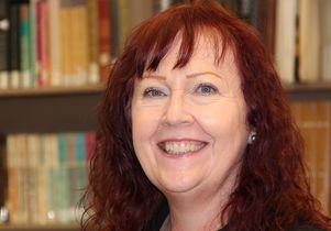 UCLA archivist Maureen Russell