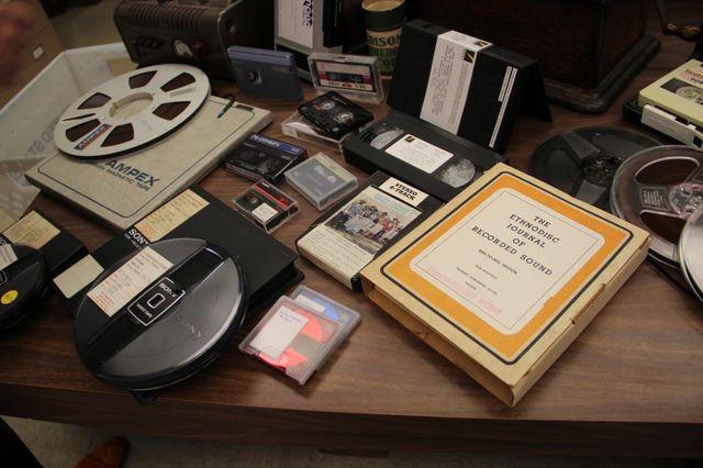 Magnetic media at the UCLA Ethnomusicology Archive