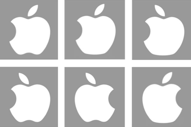 Is Apple's logo here?