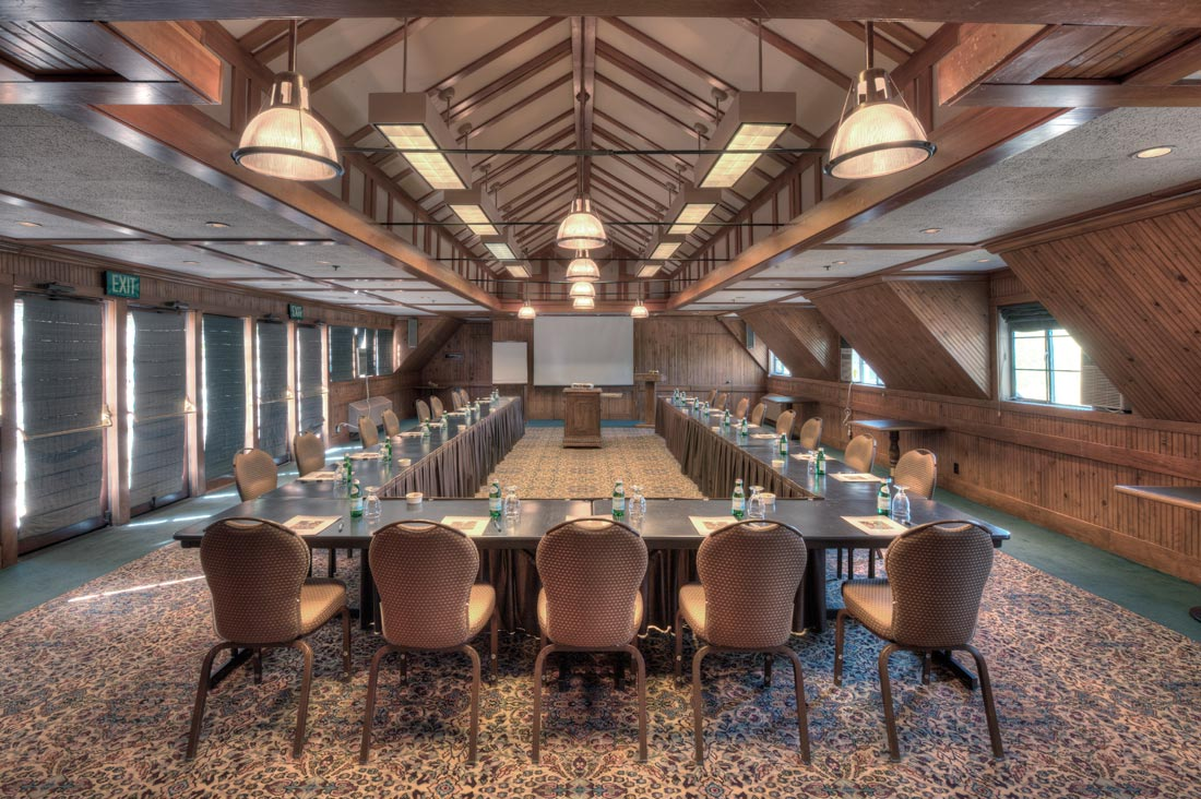 Lake Arrowhead conference room