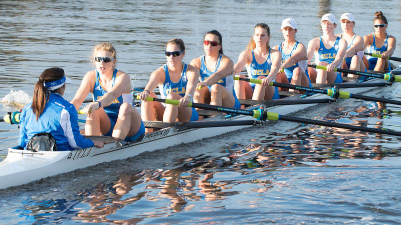 UCLA women's crew team