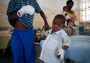 Patients from a pediatric program in Maputo, Mozambique.
