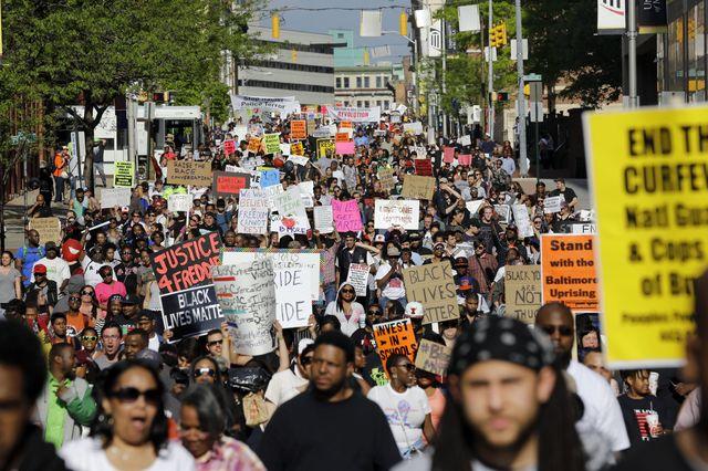 Baltimore demonstrations