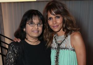 Kaleidoscope Ball. Dr. Sherin Devaskar with Halle Berry
